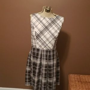 Xhilaration Casual Black and White Dress Size XL